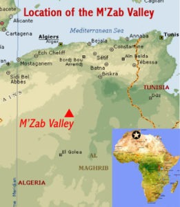 The M'zab Valley (courtesy Africanworldheritagesites.org)