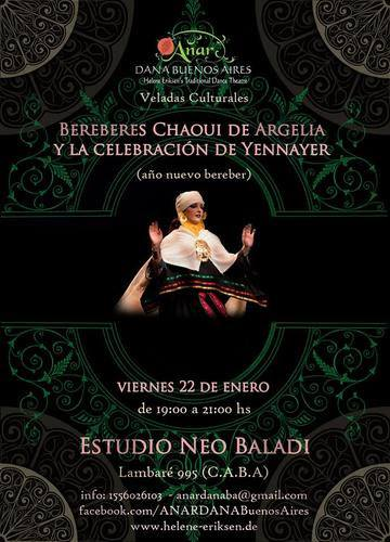 Amazigh New Year in Buenos Aires